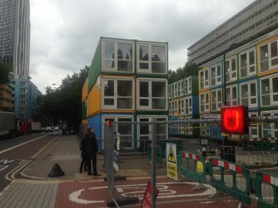 Shipping Container Hotel Conversion